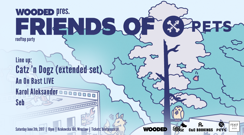 Wooded pres. Friends of PETS