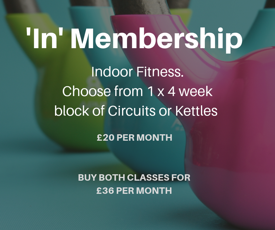 'In' Membership available from 1st April 2019 -