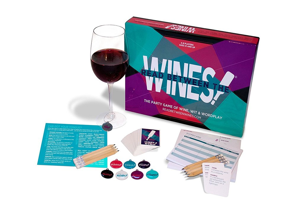 Read Between the Wines Wine Game   Gifts for Moms