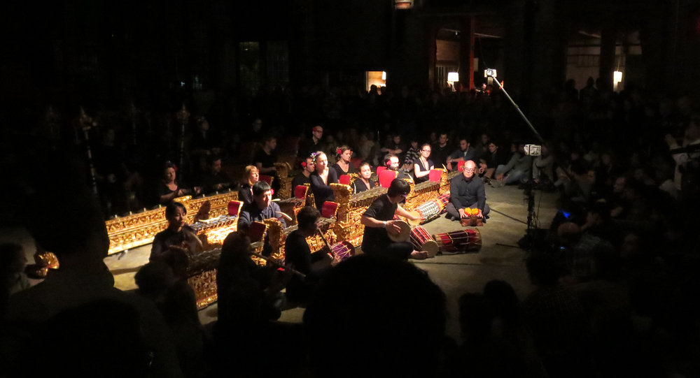 Gamelan Dharma Swara at Basilica SoundScape •Photo Credit: Leonard Nevarez