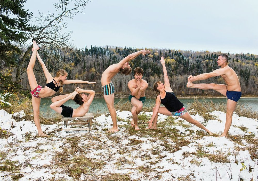 yoga, family style - New York Times Magazine
