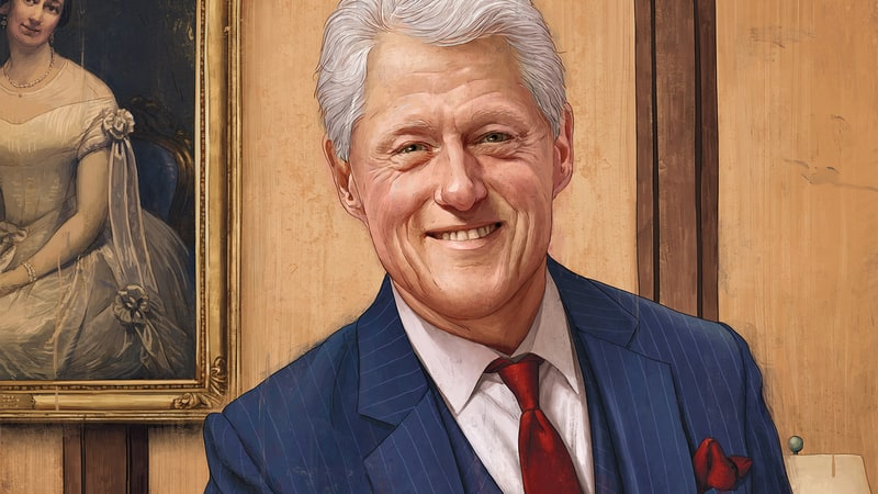 bill clinton: new husband role model - Men's Journal