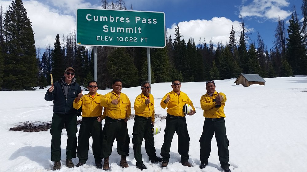 International Partners - From the headquarters of Sinarmas Forestry in Indonesia, to rural Chama, New Mexico, we led our international participants through a rigorous 14 days of burning while providing training on effective implementation of the Incident Command System (ICS).