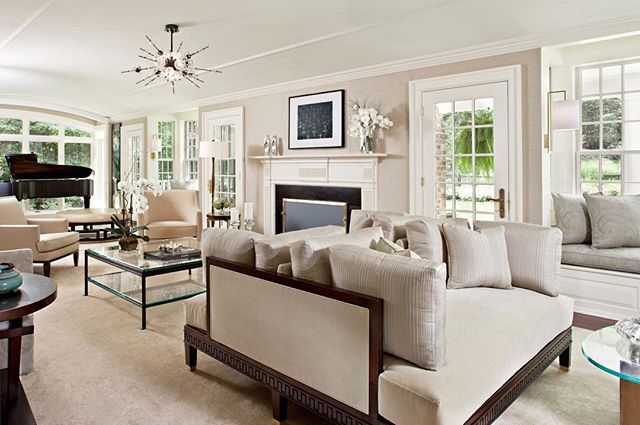 Robinson Strategic Advisors has access to coverages for luxury estates such as this stunning home designed by @linda_ruderman_interiors