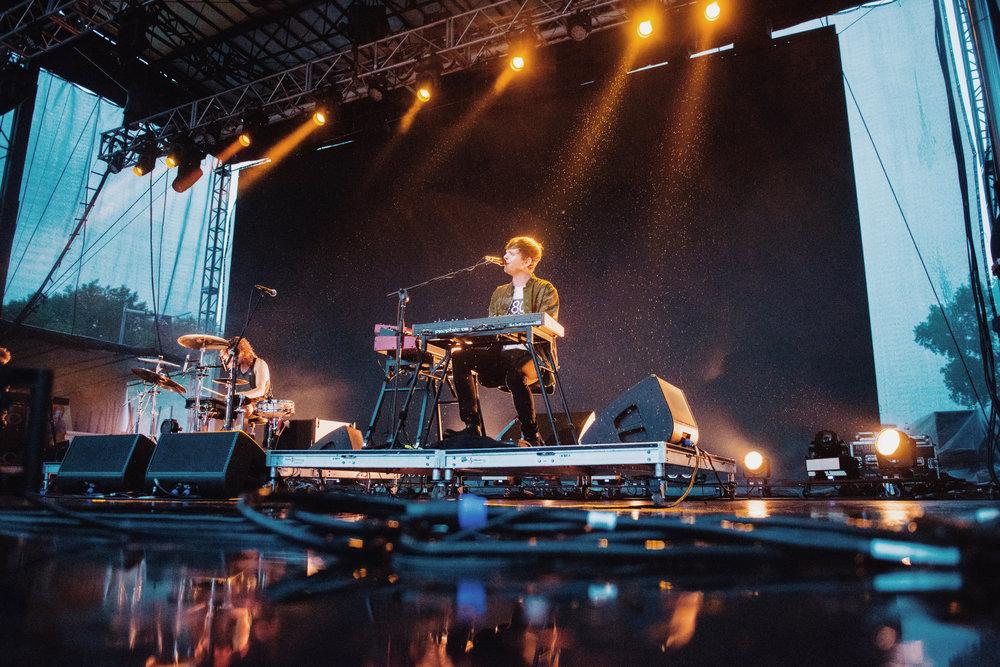 James Blake - Eaux Claires Music Festival '16