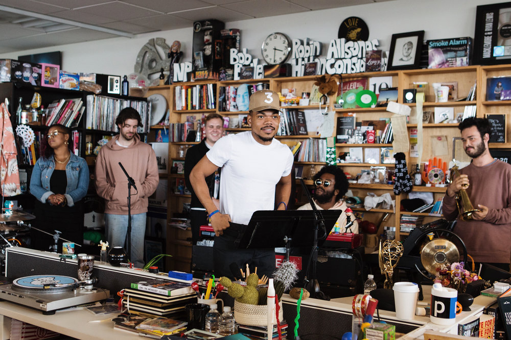 Chance The Rapper - Tiny Desk Concert - June, 2017