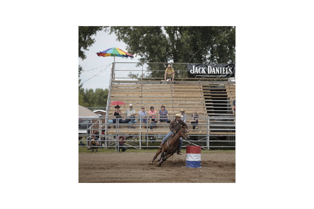 North Star Regional Gay Rodeo in Hugo, MN. July, 2018.