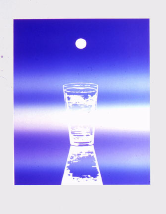 James Rosenquist,  My Mind is a Glass of Water,  1972, Color Lithograph, 31h x 22 1/2w in