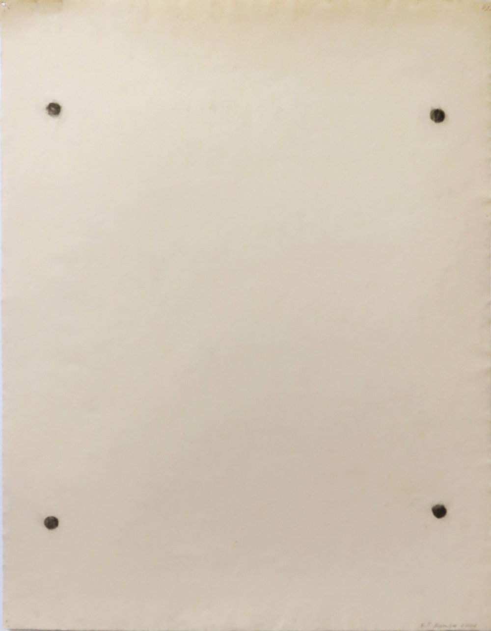 Edward Finnegan,  (Constellation Series),  November, 2006, Graphite on paper, 25.5h w 19.75w in.
