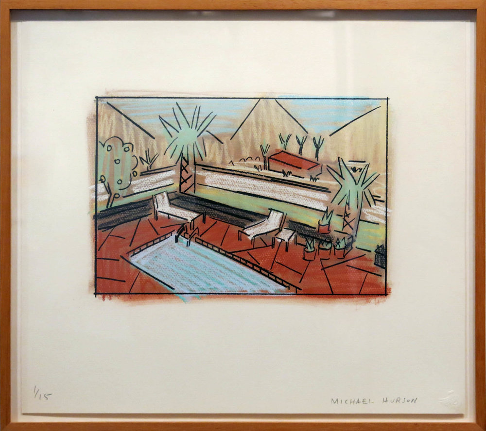 Michael Hurson,  Palm Springs,  c. late 1970s, Print, ed. 1/15, 16.5h x 18.5w in. (framed)