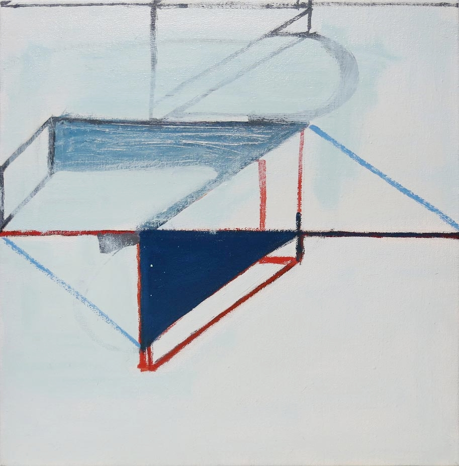 Paul Pagk,  Untitled,  2012, oil on linen, 24h x 24w in.