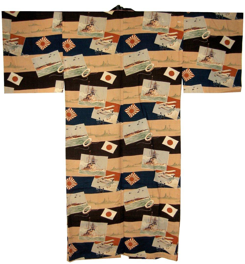 Mutsu, Man's Magajuban, c. 1930, wool, 54.25h x 53.25w in.