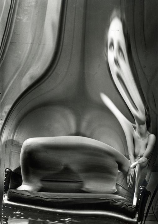Andre Kertesz, Distortion #51, 1933, Gelatin silver print, 10h x 8w in.