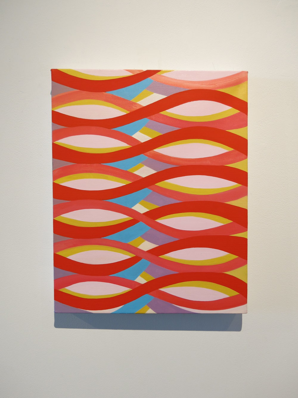 Jenifer Kobylarz,  Tangle , 2013, oil on linen, 20h x 16w in.