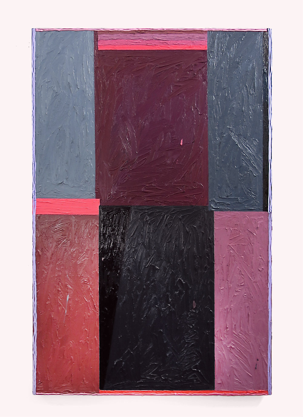 Russell Tyler, PXL , 2014, oil on canvas, 67h x 44w in.