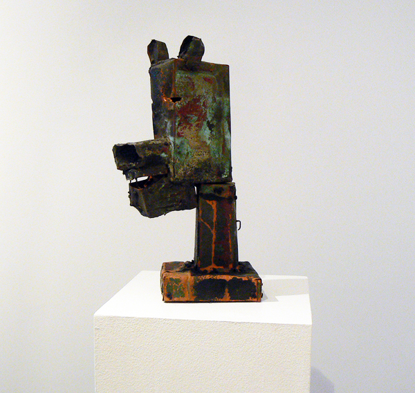 Matt Blackwell, 2005,  Bear Head , Mixed media, 17h x 6w x 6.25d in.
