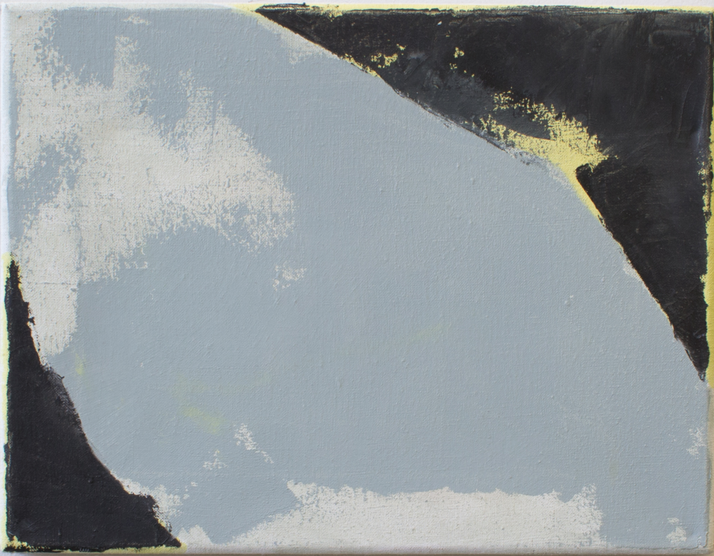 Ian White Williams,  Monosyllabic,  2012, oil on linen, 10h x 13w in.