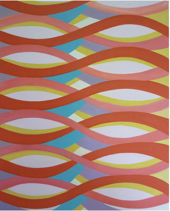 Jenifer Kobylarz,  Tangle,  2013, oil on linen, 20h x 16w in.