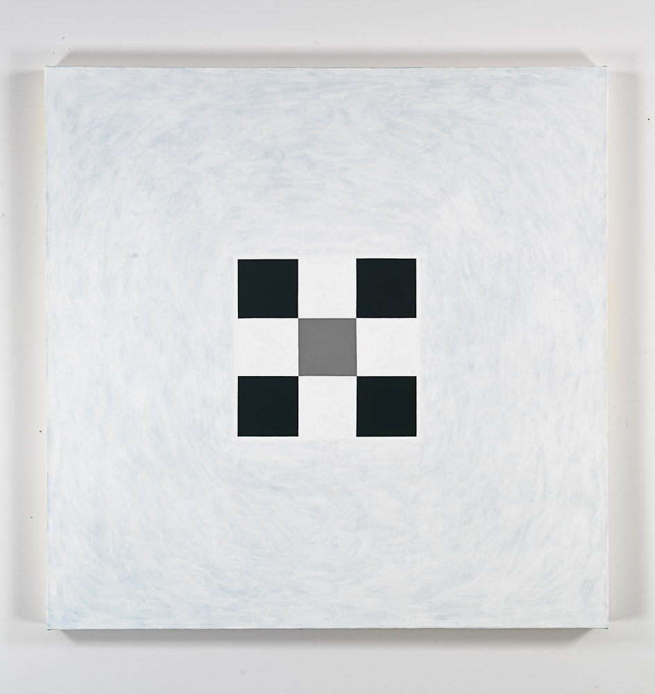 Andrew Spence,  Untitled,  2011, oil on canvas, 38h x 38w in.