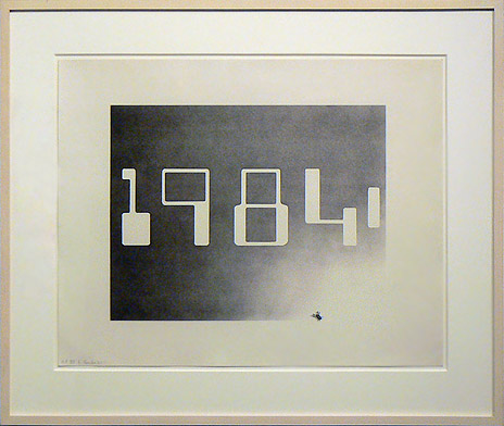 Ed Ruscha, 1967, 1984 , Lithograph, 27.75h x 32.75w in. (framed), Signed and dated, Ed. of 60