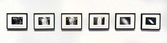 Duane Michals, 1969,                                                                  The Human Condition , Six gelatin silver prints, Image: 3 3/8h x 5w in., Paper: 5h x 7w in., Signed and titled recto in ink, From an edition of 25