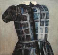 Clare Grill,  Pinion,  2010, oil on linen, 19h x 20w in.