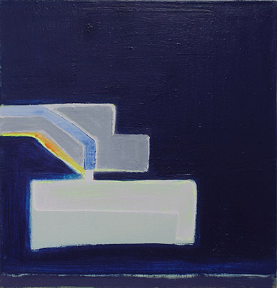 Paul Pagk,  O G L S 124,  2010-2011, oil on linen, 28h x 27w in.