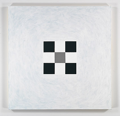 Andrew Spence,  No Name,  2011, oil on canvas, 38h x 38w in.