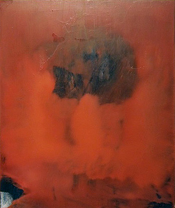 Patrick Berran,  Untitled (S6),  2011, oil on panel, 24h x 20w in.