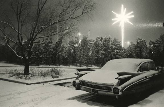 Joel Meyerowitz,  JFK Airport, New York City, 1968,  printed c. 1968, gelatin silver print, 8 3/4h x 13 3/8w in.