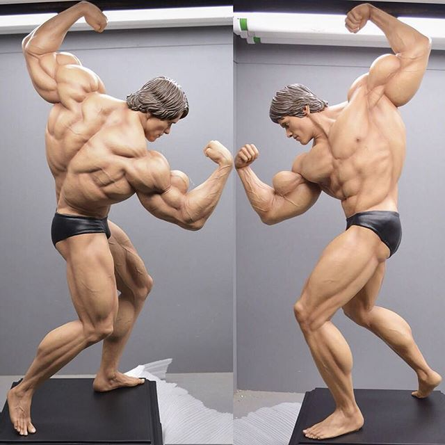 @schwarzenegger at his peak! This was one of the very first collectibles I ever sculpted for a private client. Learned a lot from it and also got to learn about Arnold and his inspiring story. - Arnold Schwarzenegger na sua melhor forma! Esse foi um dos primeiros coleciovaneis que eu tive a oportunidade de esculpir para um cliente privado. Aprendi bastante com o processo e também tive a oportunidade de aprender bastante sobre a historia inspiradora do Arnold. . . . . . #sculpture #3d #zbrush #collectibles #bodybuilding #arnoldschwarzenegger #anatomy #art #arnoldclassic #commission #3dprinting