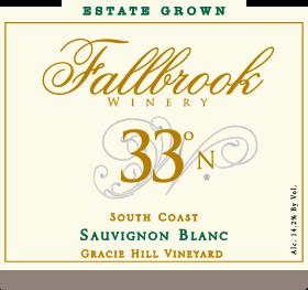 2012 33° North Sauvignon Blanc