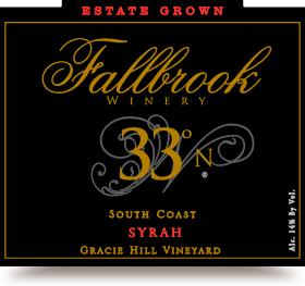 2012 33° North Syrah