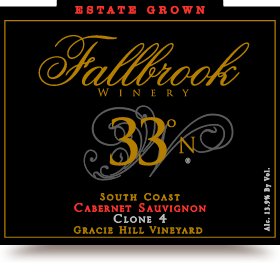 2011 33° North Cabernet Sauvignon
