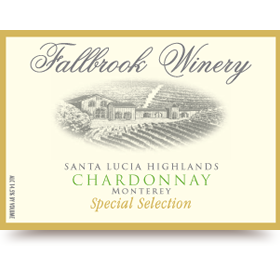 2012 Chardonnay Special Selection - Santa Lucia Highlands
