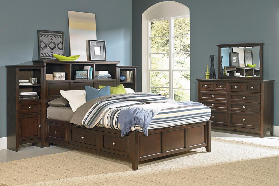 Sensational Whittier Wood Mckenzie Bookcase Storage Bed Glazed Antq Pdpeps Interior Chair Design Pdpepsorg