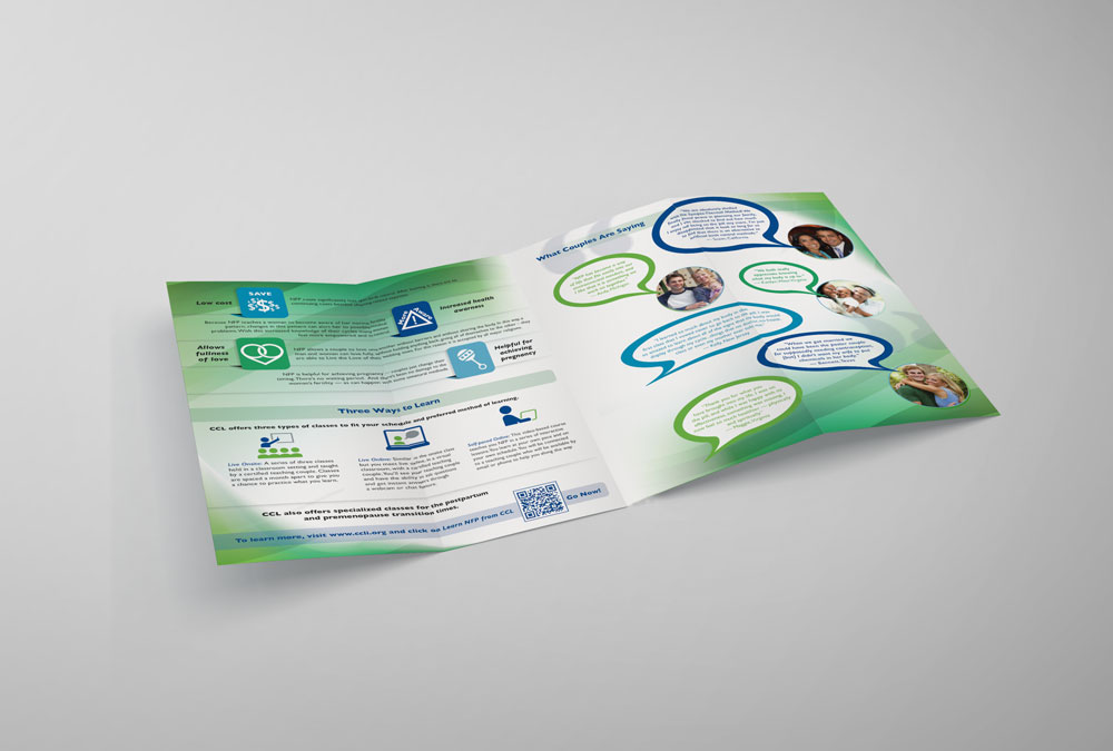 RS Creative&Design_Insides of a brochure for Couple to Couple League