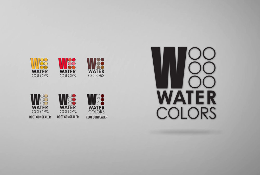 RS Creative&Design_Logo for a professional haircare color shampoo