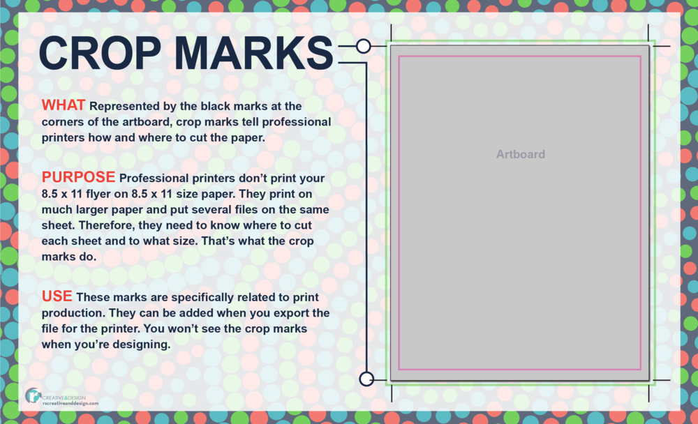 Crop Marks — what they are and how to use them in your layout