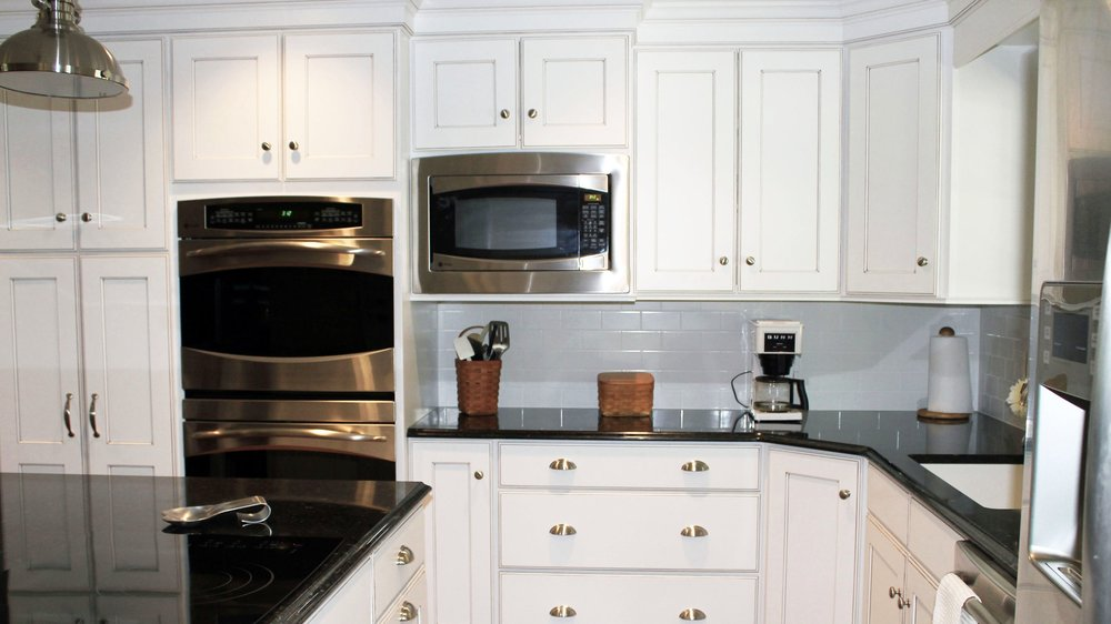 WHITE KITCHENS -