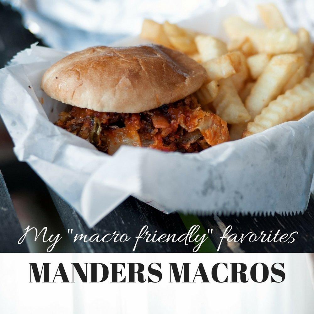 Mander's Macro Friendly Cookbooks -