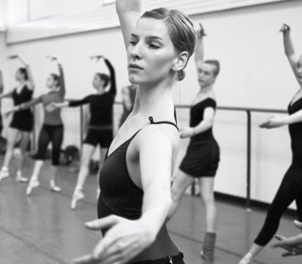 Well hello there! - I'm Ellen Warren (Ostrom), former dancer with New York City Ballet. I spent nine seasons with the company and on a few occasions guested with Oregon Ballet Theatre in my hometown of Portland.Often frustrated by the fit of most leotards, as I have a long torso and deep disdain for leos with a