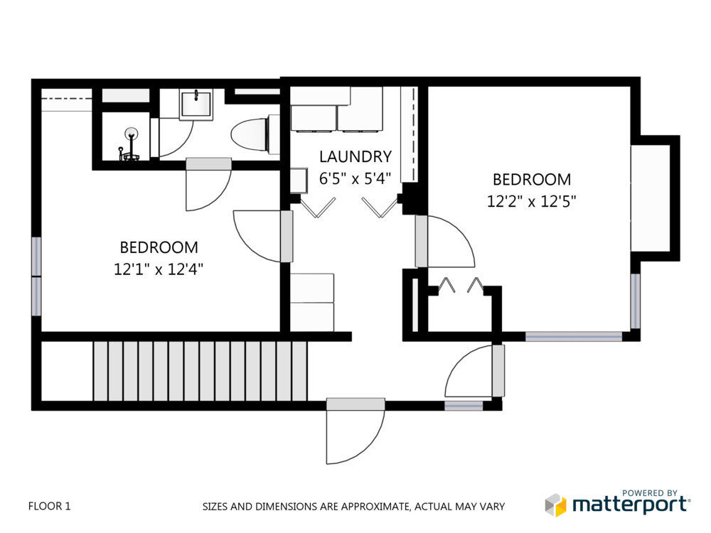 Schematic Floor Plans  Professional high resolution black-and-white floor plans.
