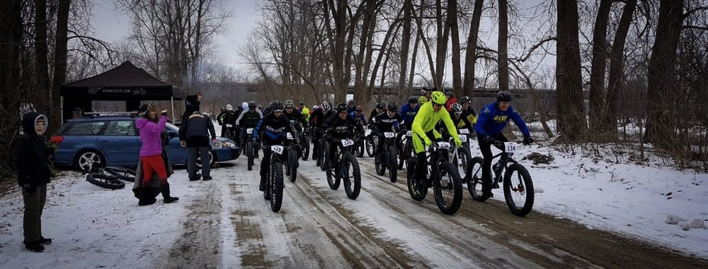 GET PHAT WITH PAT | When the snow flies here in Minnesota, fat bikes prevail. Just after the 1st of the year, we always look forward to putting on our annual Get Phat with Pat races as part of the annual Bloomington Winter Fete. Like our events at Buck Hill, Get Phat with Pat races are open to everyone and have a low cost to enter.