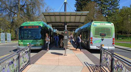 In 2016, Lane Transit District in Eugene received a nearly  $3.5 million federal grant  to add five electric buses to its fleet. LTD expects to have 10 all-electric buses running by the end of 2018.