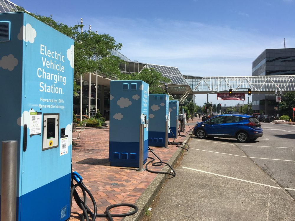PGE's downtown Electric Avenue