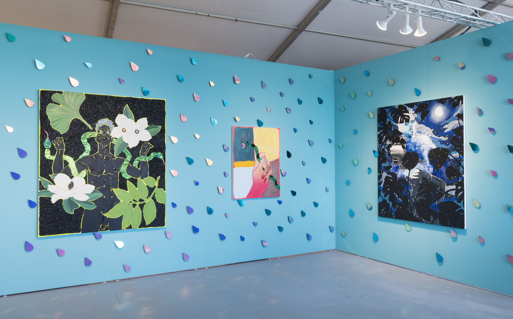 Devan Shimoyama Pulse Miami Beach Installation View, 2017