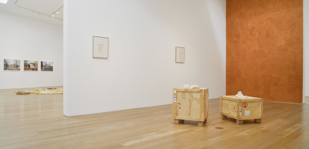 Clarissa Tossin  How Does It Travel?  Installation View, 2015