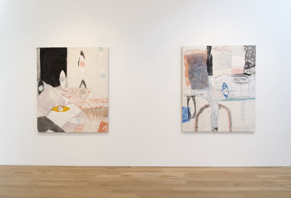 Erin Morrison  Relief  Installation View, 2015