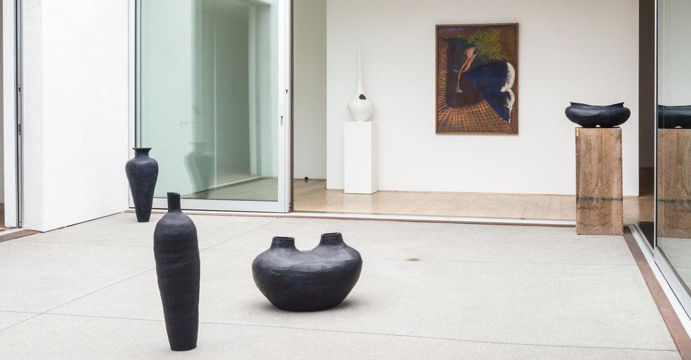 John Altoon, Phil Bower, Erin Morrison Installation View, 2014